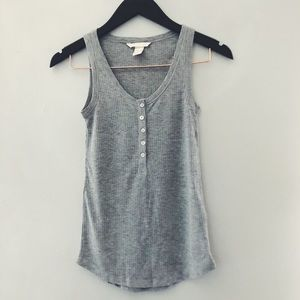 H&M Henley ribbed tank size XS